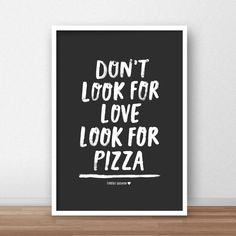 Look for Pizza