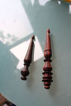 crochet hooks ~ darling and hand sized!