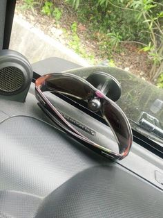 If you don't need your GPS anymore*, use the stand to hold your sunglasses. 28 Low-Tech Hacks For Your High-Tech Gadgets