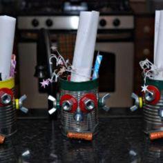 Robot party favors