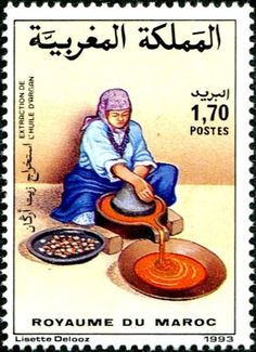 Argan Oil Morocco, Timbre Collection, Postage Stamp Collection, Portrait Illustration, Thing 1, Stamp Collecting, Magazine Art, Casablanca, Postage Stamps