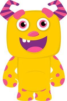 CH.B *✿* De Minus Monsters Inc, Cute Monsters, Little Monsters, Monster Inc Party, Monster Birthday Parties, Monster Classroom, Monster Clipart, Monster Face, Monster 2