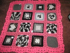 Ravelry: Project Gallery for Matilda (the granny square with heart) pattern by Ursula Glitch