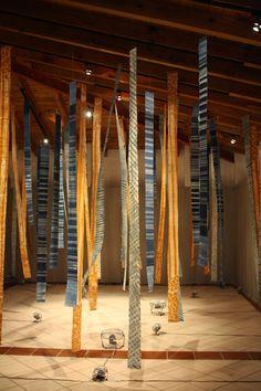 Los tejidos de Yosi, Bienal Aire, Xalapa en México 2011