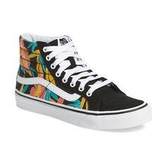Women s Vans Sk8-Hi Slim High Top Sneaker ( 65) ❤ liked on Polyvore c0321bf7c