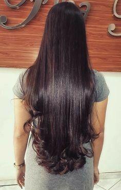 Incrível  cabelos lindos com esse método ,acesse já o link e confira . Long Black Hair, Long Layered Hair, Long Indian Hair, Long Hair Models, Super Long Hair, Braids For Long Hair, Silky Hair, Beautiful Long Hair, Hair Pictures