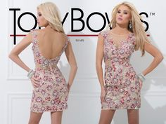 Tony Bowls Homecoming Style No. TS11470 available at CC's Boutique in Tampa