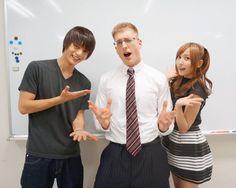 "OMG... Atsugiri Jason appears in Ep.6, ""Death Note"", air on Aug/09/'15. Masataka Kubota x Atsugiri Jason (comedian, executive) x Hinako Sano"