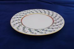 Vintage Raynaud Limoges Porcelain Bread and Butter by LaCassoulere, $55.00