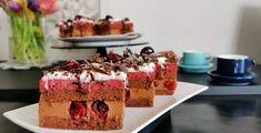 Prăjitura Intensa cu cremă de ciocolată și vișine. – Lorelley.blog Cake, Desserts, Blog, Tailgate Desserts, Deserts, Kuchen, Postres, Blogging, Dessert