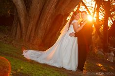 Sunset at Linley Estate Wedding Venues, Wedding Photos, Photography Ideas, Wedding Photography, Photo Location, Gardens, Sunset, Wedding Dresses, Wedding Reception Venues