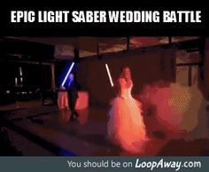 The force is strong in this marriage