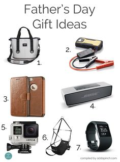 Father's Day Gift Ideas 2015  Great ideas for that special Dad in your life!  // addapinch.com