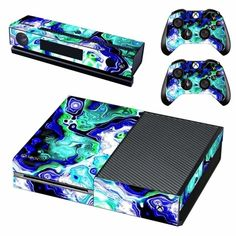 Mythical creature Xbox one Skin for Xbox one Console and Controllers Xbox One Skin, Console Styling, Ps4 Skins, Xbox One Console, Xbox One Controller, Pvc Material, Mythical Creatures, Games To Play, Bubbles