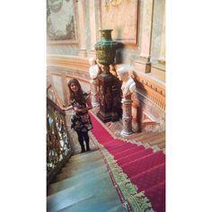 Amanda quedó cautivada por la Escalera de honor y nos mandó amablemente esta imagen que compartió en Instagram