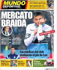 Portada Mundo Deportivo 2/04/2015