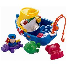 Fisher-Price Little People Floaty Boat | Fisher-Price Little People Floaty Boat | upc 887961176483 | mpn77703 y2002