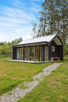 Petite maison au Danemark.
