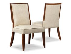 Dining Room Option 2  Fairfield Chair - Available in Leather & Other Finish Options