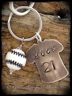 Baseball Mom Keychain Baseball Mom Sports by mygoodie2shoes, $20.00
