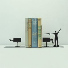 amazing cool creative funny product design bookends (17)
