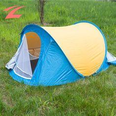 ZNL POPUP Zelt Schnellaufbau(2 Personen) Zelt Wurfzelt Campingzelt Trekkingzelt EZP02