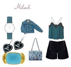 """Milah"" by monkytails on Polyvore featuring mode, Rumour London, MANGO, Balenciaga, Elizabeth Locke, Witch Worldwide en Abbott Lyon"