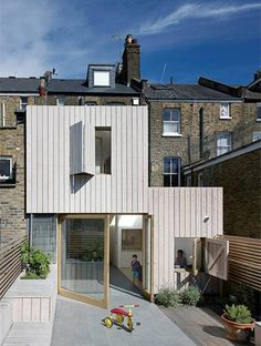 Architects -- Hayhurstand.co.uk transformation of a two-storey Victorin London terrace.