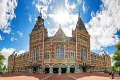 Rijksmuseum - Featured on RueBaRue, the national museum dedicated to art and history. Amsterdam Art, Visit Amsterdam, Amsterdam Netherlands, Amsterdam Attractions, Amsterdam Travel Guide, Backpack Through Europe, Amsterdam Things To Do In, Day For Night, Puzzles