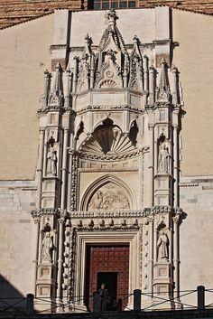 Ancona, Marche, Italy- Chiesa di San Francesco alle Scale