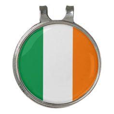 Golf Hat clip and Ball Marker Ireland Flag  $14.95  by AllFlags  - custom gift idea