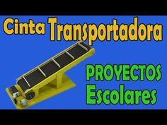 Proyectos | Cinta Transportadora Casera (muy fácil de hacer) - YouTube