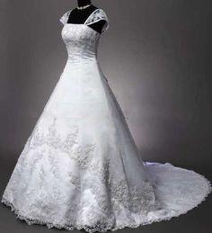 Custom Wedding Dress Bridal Gown Deb Plus-Size | eBay
