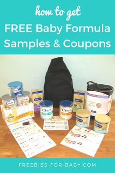 Look at the free baby samples I got from Enfamil, Similac + Gerber! This baby hack will show you how easy it is to get free baby formula plus high-value baby formula coupons. Best Baby Formula, Baby Formula Coupons, Baby Coupons, Infant Formula, Free Formula Samples, Free Baby Samples, Pregnancy Freebies, Baby Freebies, Newborn Baby Tips