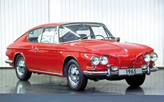 I have never seen one in the flesh.  Definitely on my bucket-list!  Type 34 Volkswagen Ghia