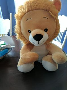 This is Rory the Lion He is a Fundraiser through Avon If you would like a Fundraiser let me know www.youravon.com/rachelmdunham