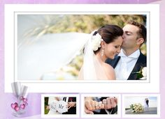 Make a romantic wedding photo album with http://ams-collage.com/download.php and adore your photos in a new way! #WeddingCollage #WeddingPhotoAlbum.