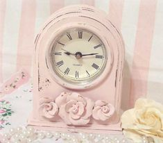 Paint old clocks that you pick up at the auctions