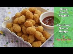 Spicy Potato Nuggets are a great party starter and can be eaten as snack at any time of the day along with your favourite Italian dish. McCain Potato Nuggets Step by step & detailed video recipe Potato Snacks, Tea Snacks, Easy Potato Recipes, Yummy Snacks, Snack Recipes, Appetizer Dishes, Quick Appetizers, Appetizers For Party, Aloo Recipes