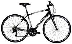 Tommaso La Forma Lightweight Aluminum Hybrid Bike -Black/...
