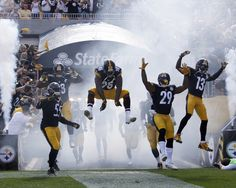 Pittsburgh Steelers Take the Field Picture at Pittsburgh Steelers Photo Store