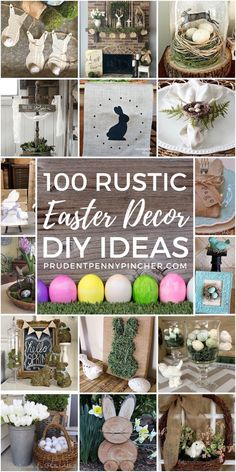 Give your easter decorations a rustic and cozy touch with these rustic easter decor ideas From wreaths to centerpieces there are rustic home decor ideas for every spot in your home rustic easter easterdecor diy crafts homedecor spring springdecor Summer Decoration, Decoration Photo, Spring Decorations, Diy Easter Decorations Home, Easter Wreaths Diy, Wreaths Crafts, Easter Garland, Spring Wreaths, Thanksgiving Decorations