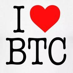 I <3 BTC Crypto Coin, Coins, Design, Coining, Rooms, Design Comics