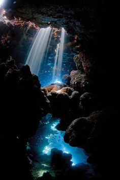 Scuba Diving Magazine's 2013 Photo Contest Winners ... HONORABLE MENTION: CAVE by Pietro Formis - Ras Mohammed, Egypt