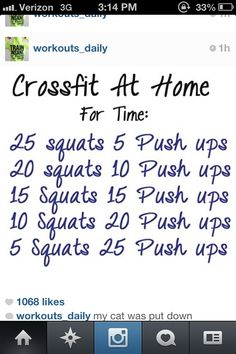 "Crossfit WOD ""up-down"" can't wait to try this!"