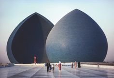 Al-Shaheed Monument, also known as the Martyr's Memorial, is a monument in the Iraqi capital, Baghdad, dedicated to the Iraqi soldiers who died in the Iraq-Iran war. The Monument was opened in 1983, and was designed by the Iraqi architect Saman Kamal and the Iraqi sculptor and artist Ismail Fatah Al Turk.  #iraq #monument #pictures #amazing