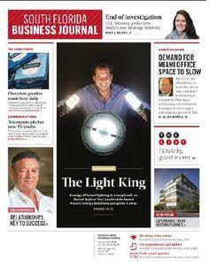 South Florida Business Journal Executive profile January 2016