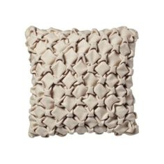 Origami Wool Pillow Cover| Serena & Lily