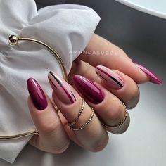 Pastel Nails, Nude Nails, Coffin Nails, Winter Nails, Spring Nails, Summer Nails, Burgundy Nail Designs, Burgundy Nails, Nail Designs Pictures