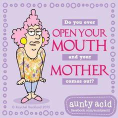 Oh no, oh no  #AuntyAcidsLoveShack